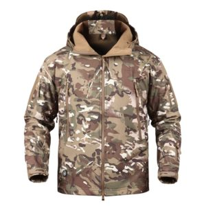 Waterproof Military Softshell Fleece Jacket